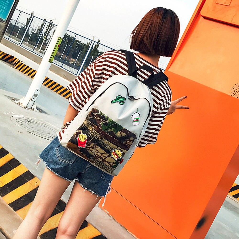 Molave Рюкзаки высокого качества нейлон подростков для девочек и мальчиков на молнии рюкзак с принтом школа моды рюкзак женщины mar27