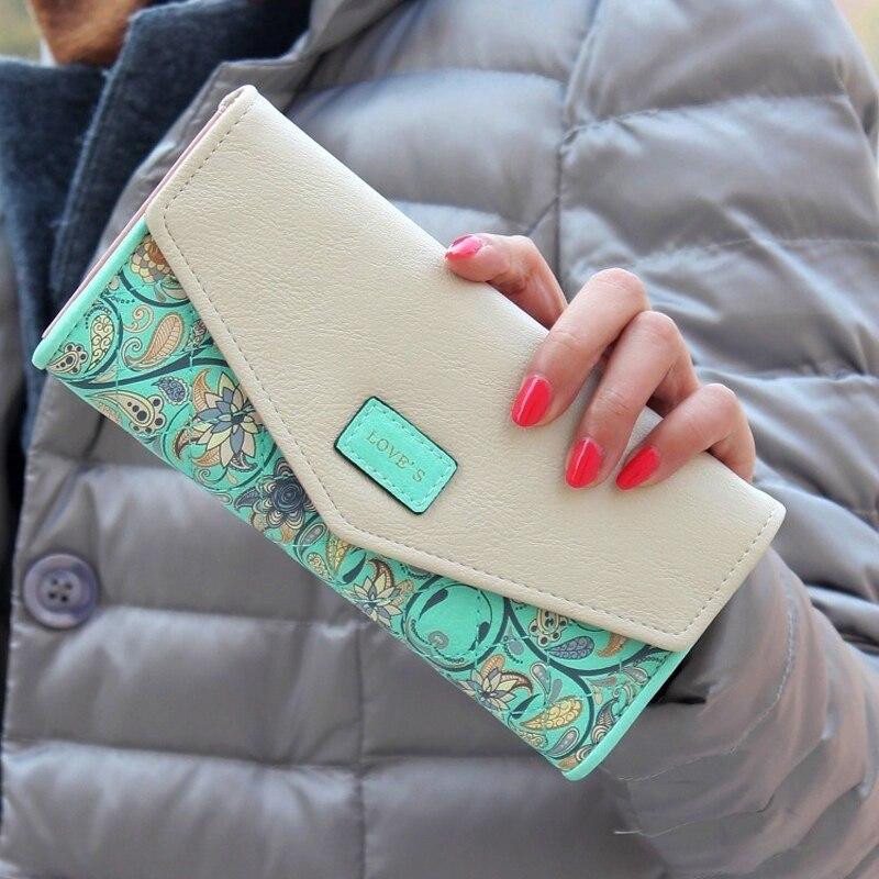 de dinheiro bolsa feminina ocasional Tipo de Estampa : Floral
