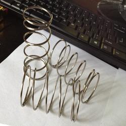10 шт. 304 Нержавеющая сталь Весна давление пружина Малый сжатия пружина диаметр мм 2,0-0,3 мм диаметр провода