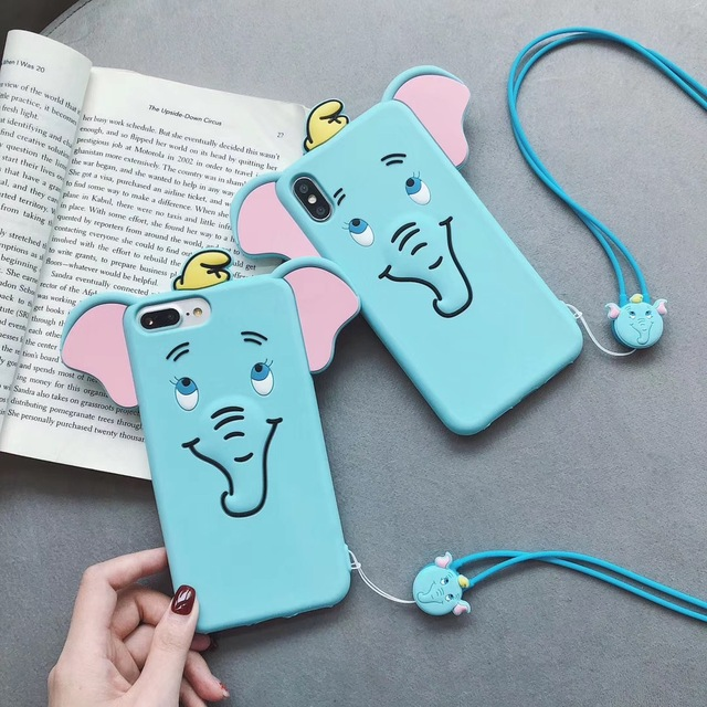 3D cute DUMBO Case for iphone
