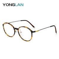 2019 New TR90 Round ULTEM Design Glasses Frame Women Men Myopia Eyewear Clear Lens Gafas Optical Glasses