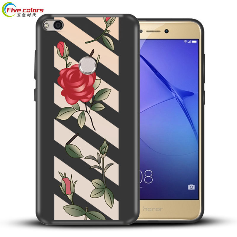 For Huawei P8 Lite 2017 Case Luxury 360 Full Protection Soft Silicone Back Cover Case for Huawei P8 Lite 2017 Phone Bag
