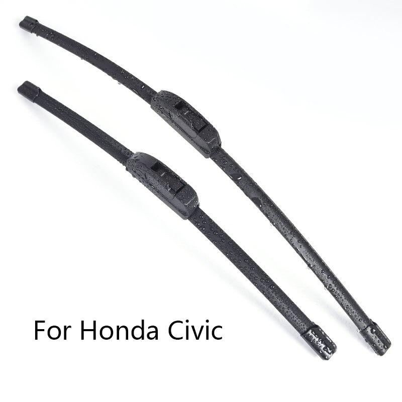 Car Windshield Wiper Blades for Honda Civic form 2001 2002 2003 2004 2005 2006 2007 to 2016 Car Windscreen wiper Rubber|Windscreen Wipers| |  - title=