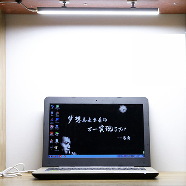 Usb Led Desk Lamp 2835 5v Strip Light Bar For Night Reading Book Table