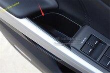 Для Honda Crosstour 2010-2013 двери автомобиля подлокотник коробка для хранения внутренние двери Панель резервуар 4 шт./компл.