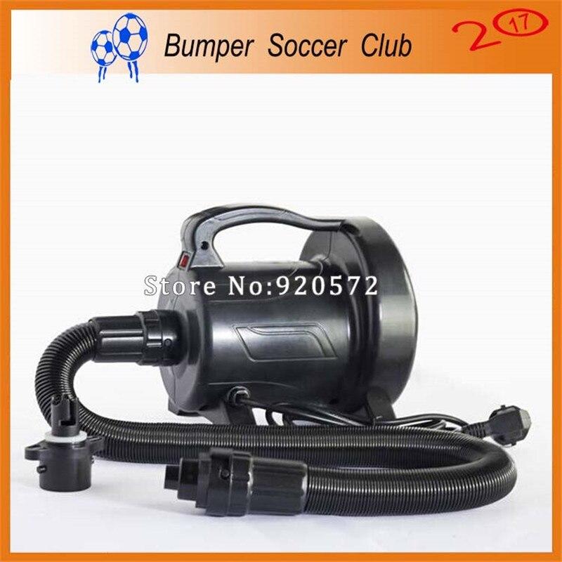 Livraison gratuite 1200 W pompe à Air électrique souffleur d'air pour bulle de Football, boule pare-chocs, bulle de Football, boule de rouleau d'eau, boule de Zorbing