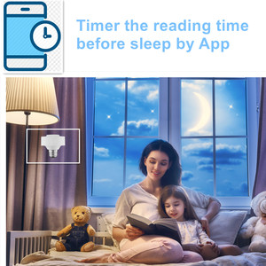 Image 4 - Tuya Smart Life WiFi Light Socket Lamp Holder for E26 E27 Edison Screw Led Bulb Google Home Echo Alexa Voice Control App Timer