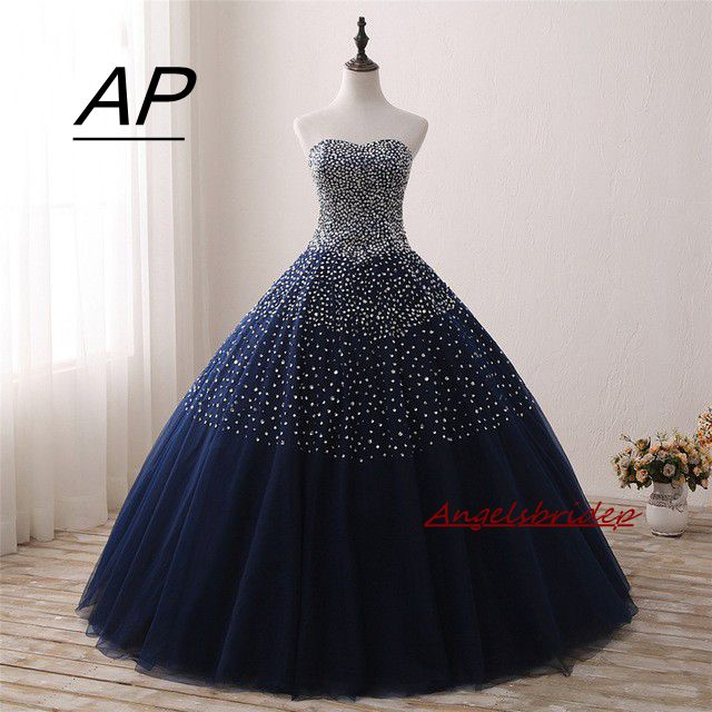ANGELSBRIDEP New Arrive 100 Real Photo Quinceanera Dresses Ball Gown Beaded Lace Up Sweet 16 Dress