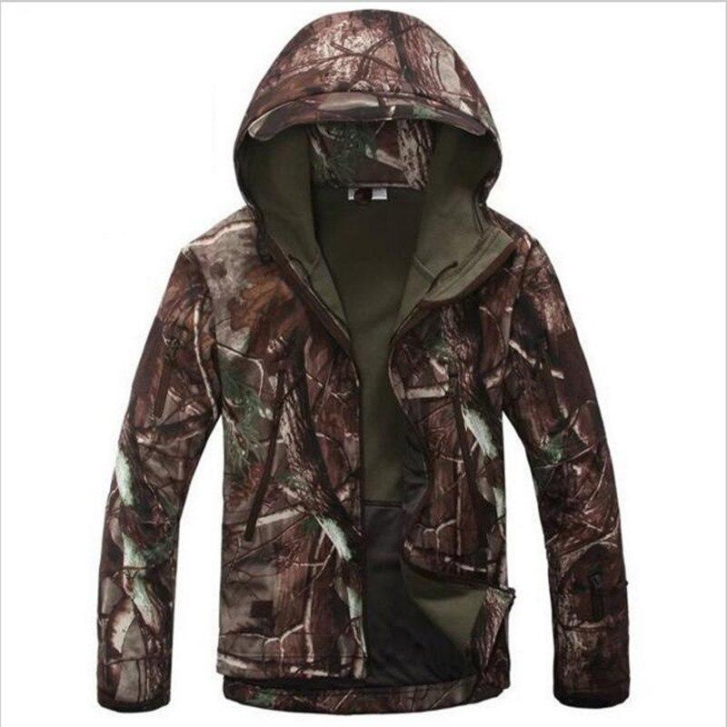 Armée Camouflage manteau veste militaire imperméable coupe-vent imperméable chasse vêtements armée hommes vêtements d'extérieur vestes et manteaux