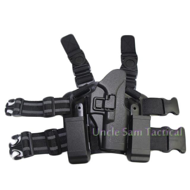 Tactical CQC Glock Leg Holster Military Combat Thigh Holster Hunting Shooting Gun Holsters For Glock 17 19 22 23 31 32