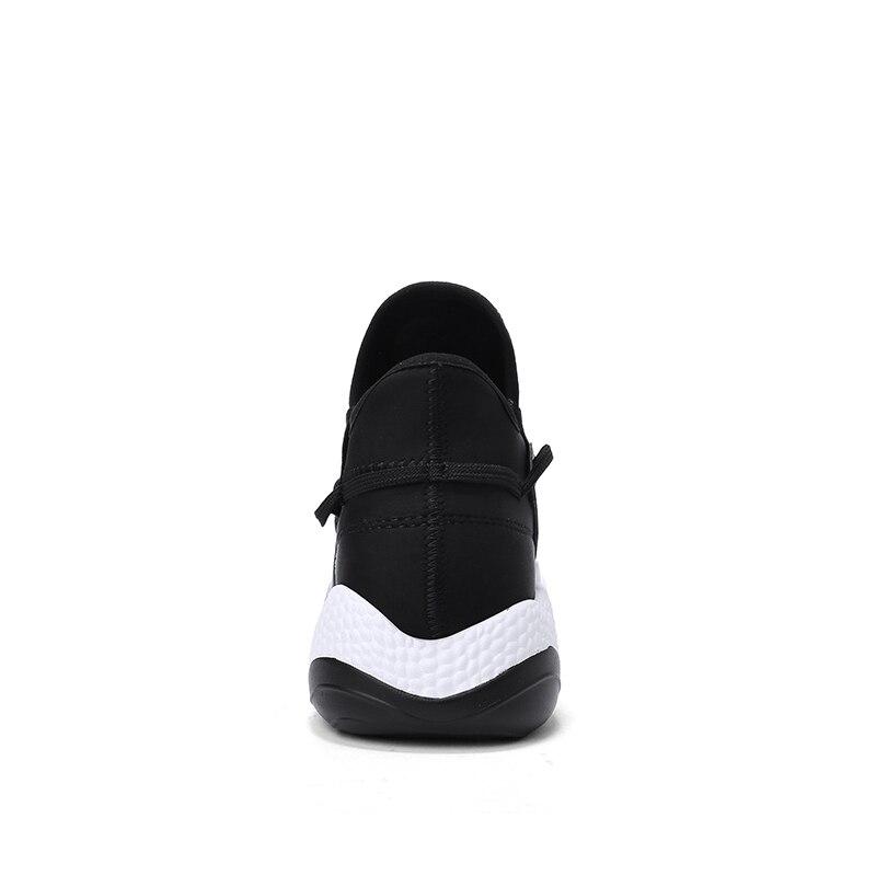 Estilo Moda White Negro Red Nuevas otoño Caminando Suave De Primavera Hombres Llegadas Tendencia Mycoron Marca Superior black Alta black Mocasines Zapatos Zapatillas nHf0w4qtHT