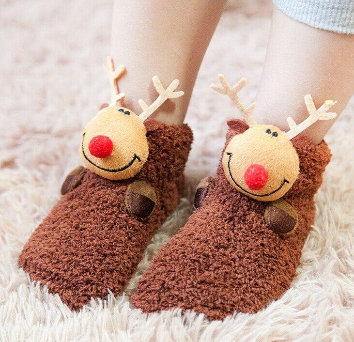 Для малышей Нескользящие носочки-башмачки Носки для девочек Мокасины Шлёпанцы для женщин длинные Детские носки Обувь для младенцев 3 шт./ко...