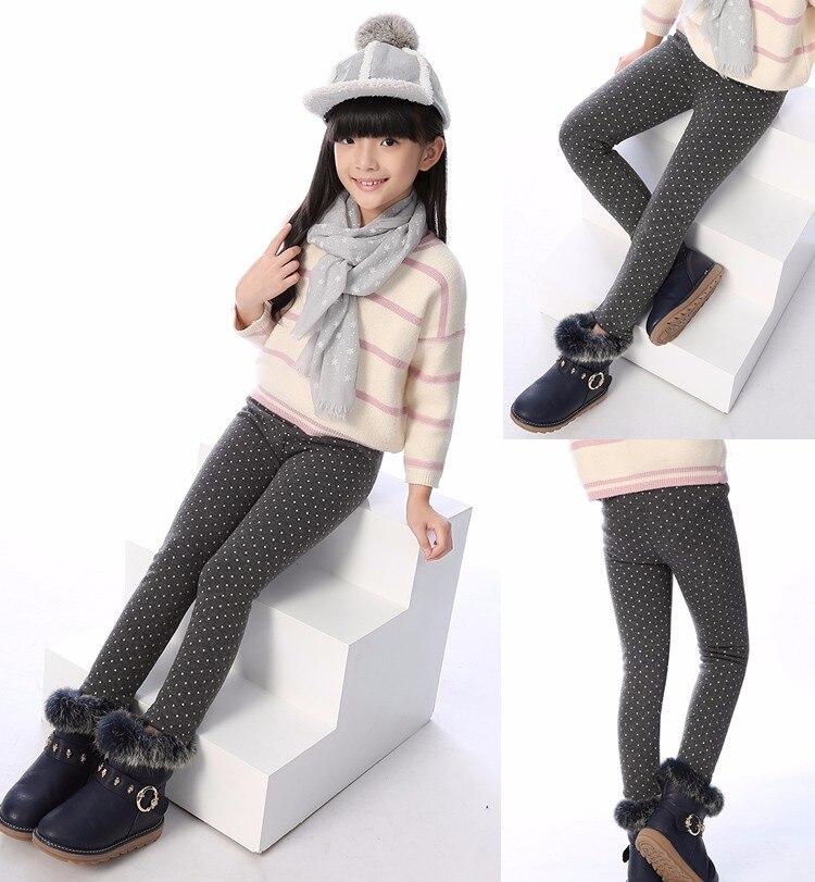 SheeCute/новые модные детские От 3 до 11 лет; сезон весна-осень-зима; теплые хлопковые брюки для девочек; детские брюки; леггинсы с принтом