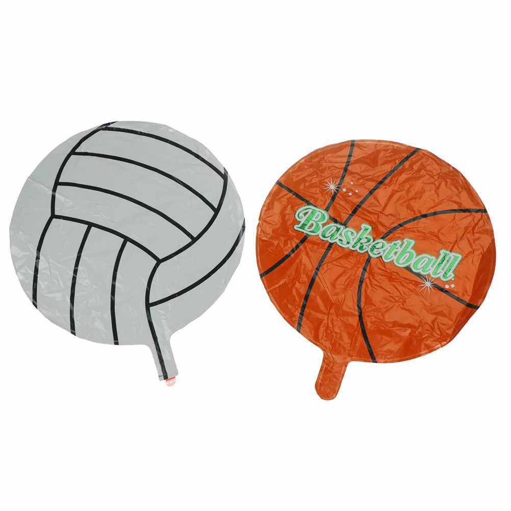 Regalos de fiesta de cumpleaños para niños globos de aire hinchables de voleibol de fútbol