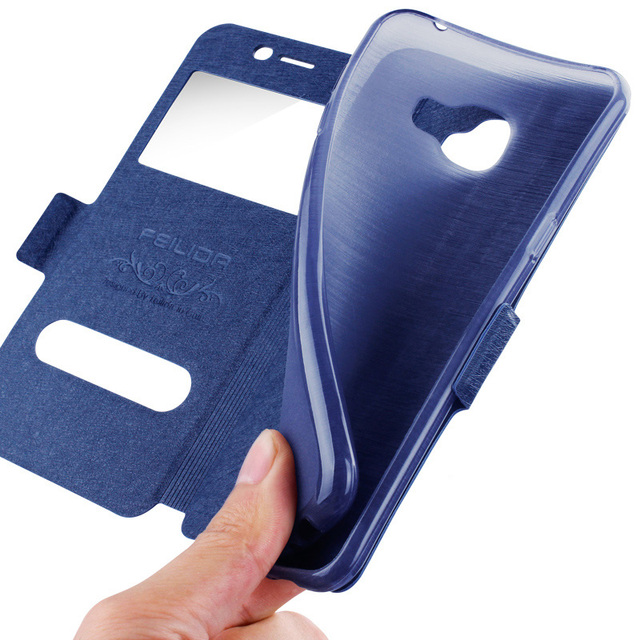 size 40 de09f 9bf0d US $7.59 |Luxury Flip Cover For Samsung Galaxy Note 2 View Window Case For  Galaxy Note II Soft Back Cover For N7108 Full Cover N7100-in Flip Cases ...