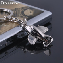 metal airplane keychains mini aircraft key rings pendant toys best gift boy bag charm novelty item zinc alloy jewelry keyfob