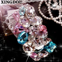 NEW 3D DIY Luxury Bling Crystal Diamonds Hard Back Case Cover For Samsung Galaxy 2016 2017