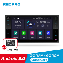 IPS Screen 1 Din Universal Android 9.0 Car Multimedia Player Car DVD Audio Stereo Radio GPS Navi Video Bluetooth FM WIFI 7 touch screen 2 din universal android 8 1 car multimedia player car dvd audio stereo radio gps navi video bluetooth fm wifi