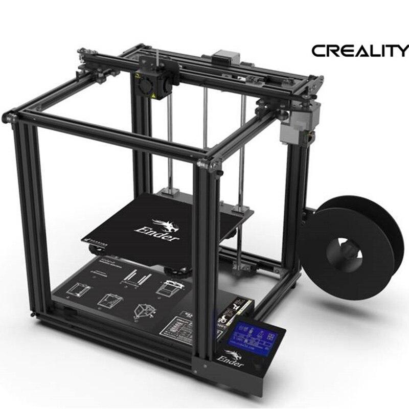 2019 Mais Recente impressora Ender-5 3D V1.1.3 mainboard placa de potência Grande tamanho Cmagnetic construir fora do currículo fechado estrutura Criatividade 3D