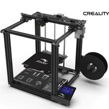 2019 el más nuevo Ender-5 3D impresora V1.1.3 placa base de gran tamaño Cmagnetic Placa de Construcción Energía reanudar estructura cerrada Creality 3D