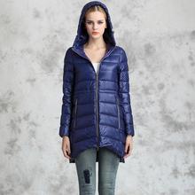Down Parka 2016 Brand Winter Jacket Women Cloak Outwear 90% Duck Down Jacket Large Size S-6XL Hooded Female Parka Coat w1607