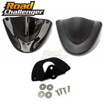 Motorcycle Front Chin Spoiler Air Dam Fairing Cover Mudguard Air Dam Fairing For Harley Dyna Fat Bob FXDL 2006-2017 Lower Chin все цены
