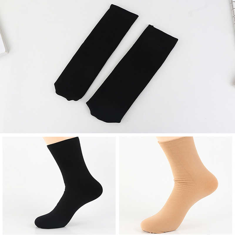 1a2b9597424 ... Winter Wamer Women Thicken Thermal Wool Cashmere Snow Socks Seamless  Velvet Boots Floor maternity socks pregnant ...