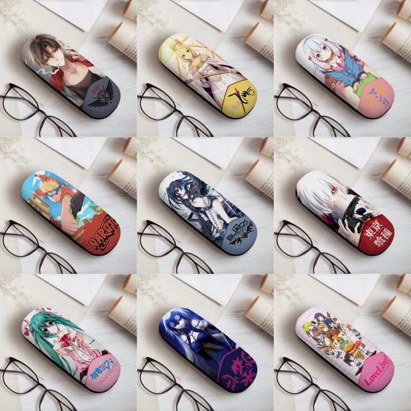 A Variety Of Anime Eyewear CasesOne Piece Tokyo Art Variety Art Art Personality Simple Fresh Spectacle Case Glasses Case