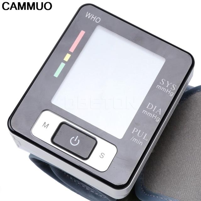 Health Care new tensiometro digital Blood Pressure Monitor Wrist tonometer Automatic Sphygmomanometer BP Blood Pressure Meter 3