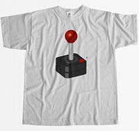 Retro Joystick Old School Cult Classic Geek Gamer Mens T Shirt Newest Top Tees,Fashion Style Men Tee,100% Cotton Classic tee t