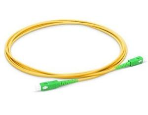 Image 4 - 1m/5pcs SC APC Fiber Patchcord G657A Fiber Patch Cable Simplex 2.0mm PVC SM Bend Insensitive FTTH Optical Cable