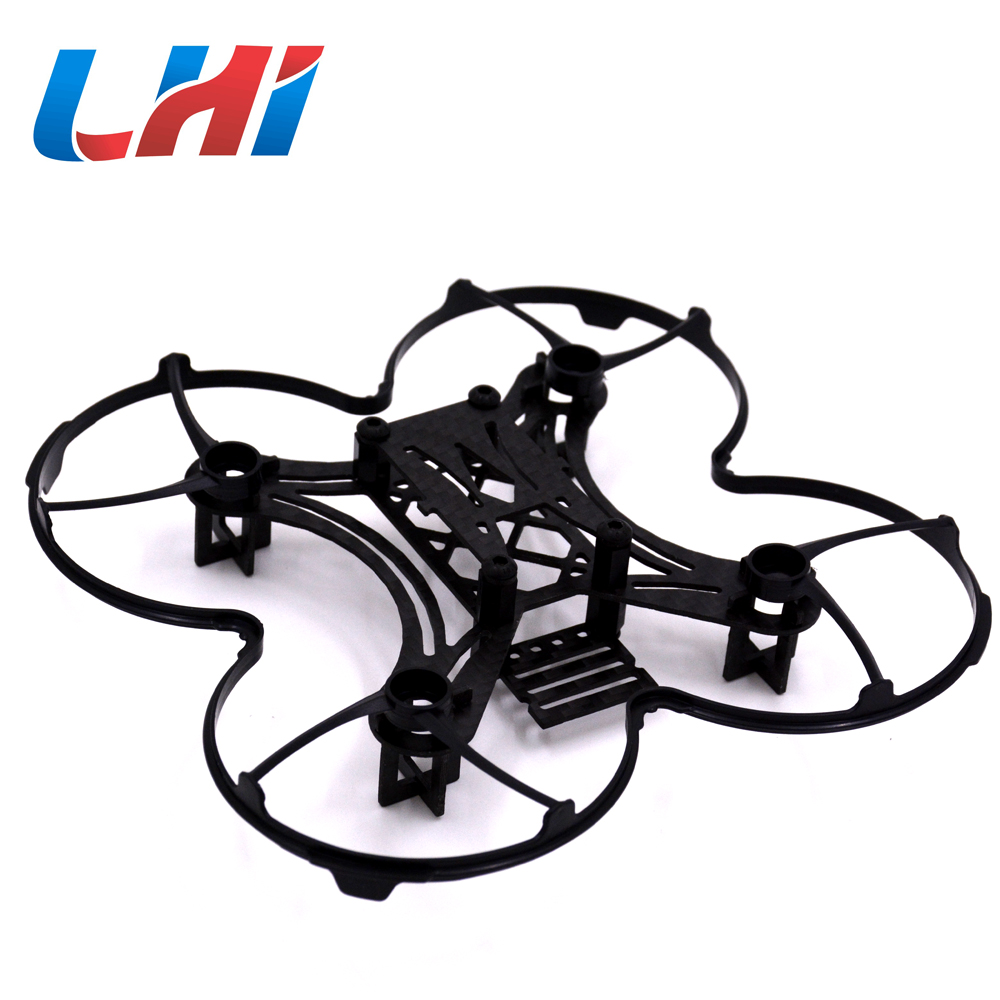 mimi RC plane 90mm Micro FPV Racing quadrocopter Spare Parts Carbon Fiber DIY Kit quadcopter Frame rc drones quadrotor plane rtf carbon fiber fpv drone with camera hd quadcopter for qav250 frame flysky fs i6 dron helicopter