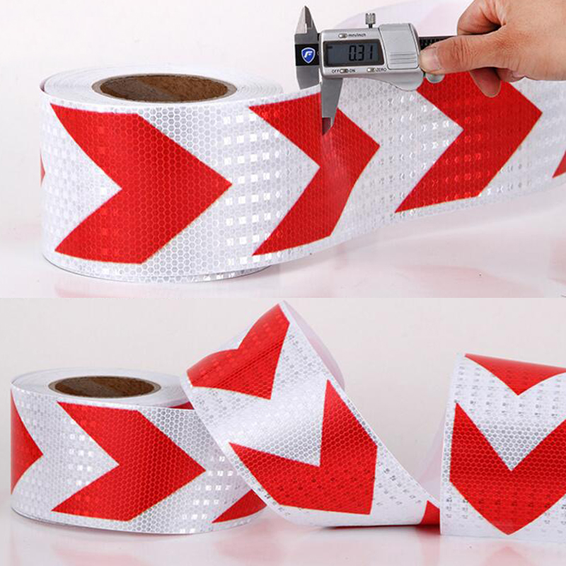 7.5cm X 5m  Reflective Car Stickers Adhesive Tape For Car Safety