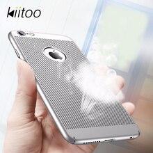 Kiitoo Телефонные Чехлы для Coque iPhone 6/6 S Plus с дыханием отверстие Защитная крышка В виде ракушки для Fundas iPhone 6 6 S плюс Капа