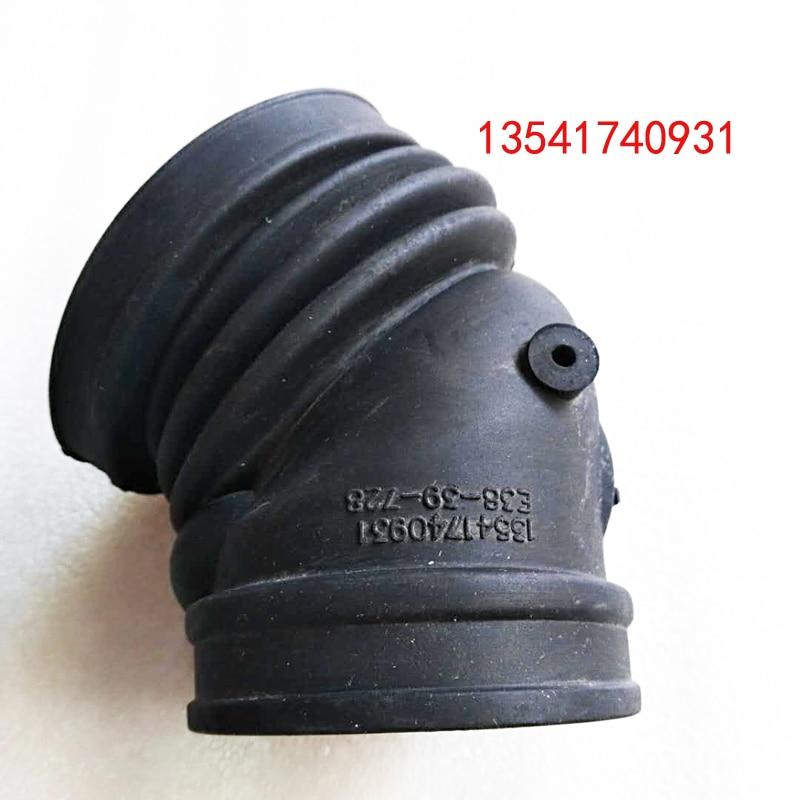 for BMW E39 520i 523i 528i E38 728i M52 Rubber Air Intake Boot 13541740931|Intake Manifold| |  - title=