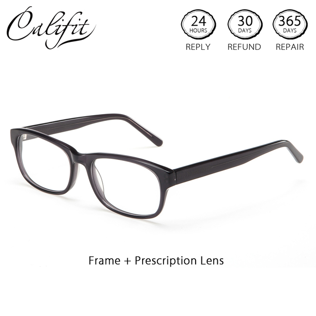 CALIFIT Full Frame Optical Glasses Women High Quality Prescription ...