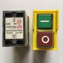 И переключатель блока управления для сверлильный станок электромеханический переключатель KJD6 5E4 AC250V 6(4