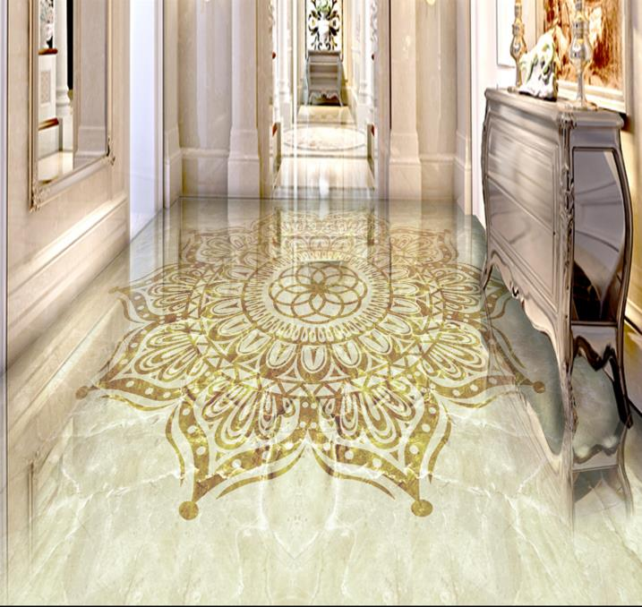 European 3d floor ceiling marble pattern design custom 3d flooring vinyl non-slip self-adhesive waterproof 3d photo floor high quality 3d flooring vinyl custom 3d floor bathroom landscape non slip wear thickend self adhesive wallpaper