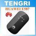 Abierto original de huawei e587 mifi 3g router hotspot inalámbrico 42 mbps wifi móvil