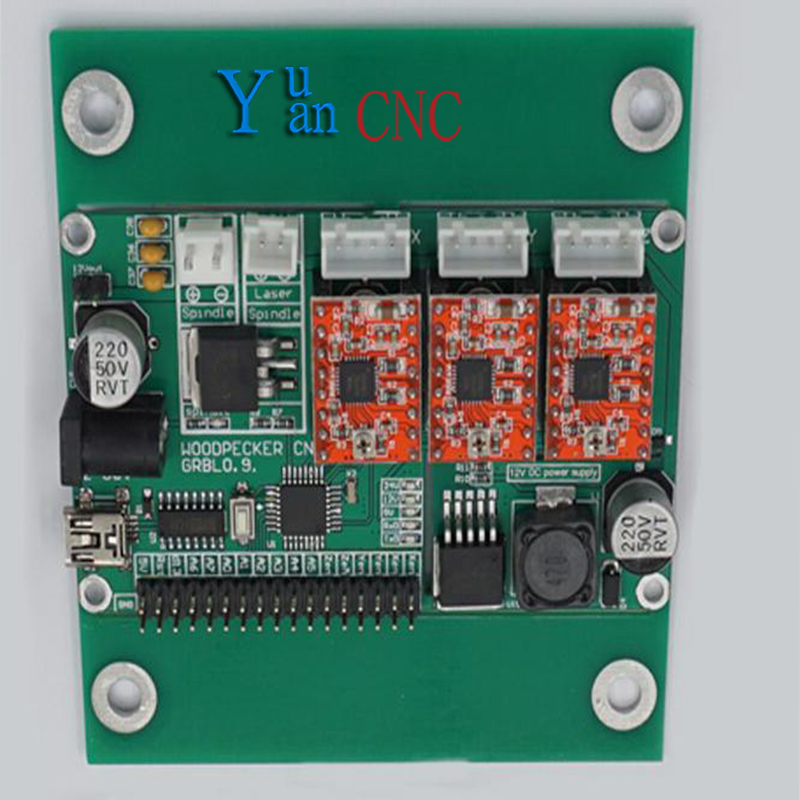цена на GRBL ,USB port cnc engraving machine control board, 3 axis control,laser engraving machine board