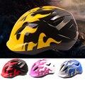 Детский велосипедный шлем ПВХ + сверхлегкие детские велосипедные шлемы безопасные Углеродные велосипедные MTB скейт шлем горные велосипедн...