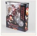 New hot sale anime figure toy Iron Man SHFiguarts MK43 Iron Man 17CM gift for children free shipping