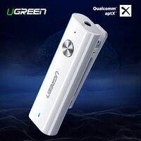 Ugreen Bluetooth 4.2 Receiver 3.5mm APTX AUX Adapter for Headphone Speaker Music Wireless Bluetooth 3.5 Jack Audio Receiver aptx