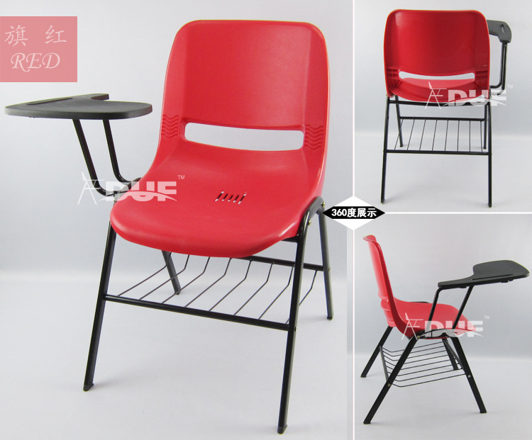School Tablet Chair Study College Chair With Writing Board