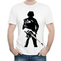T-shirt Bruce spring steen colore bianco moda uomo manica corta T-shirt Bruce spring steen top T-shirt T-shirt Casual