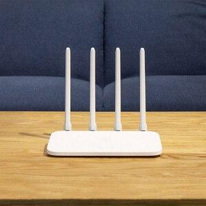 Image 4 - מקורי שיאו mi mi WiFi נתב 4A Dual להקת 2.4GHz 5GHz AC 4 אנטנות תמיכת WPA 4A Gigabit גרסה
