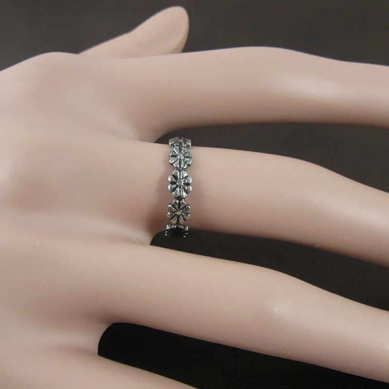 6 สไตล์ผู้หญิงแฟชั่น Toe แหวนที่ละเอียดอ่อนความรักที่เรียบง่ายตัวอักษรเปิดเท้าปรับเครื่องประดับ