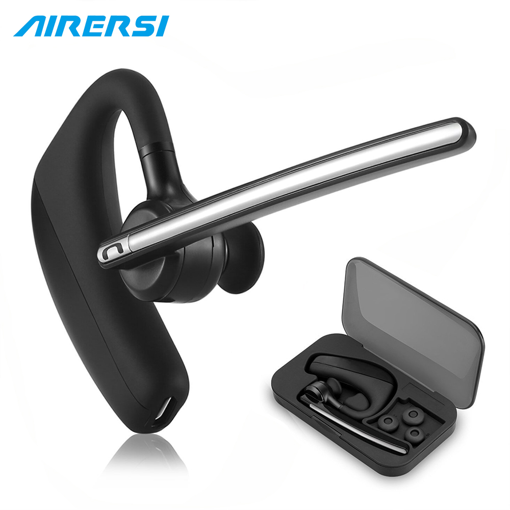 K11 Business Wireless Earphone Stereo Handsfree Noise Reduction Bluetooth Headset Headphones with boxes For Car Driver Connect bh820 bluetooth headset stereo handsfree wireless earphone smart car call business bluetooth headphones with storage box