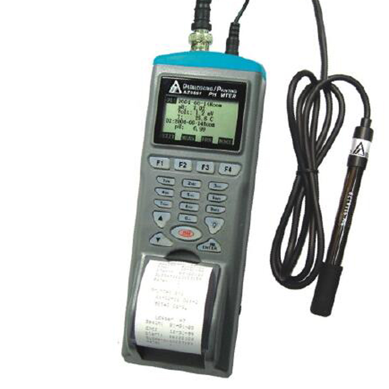 AZ9861 ph meter ph recorder Electronic ph meter With print Fishing aquaculture water quality detector цены