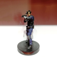 Japan Action Figure From Resident Evil 2 Remake Game Leon Scott Kennedy Model Collectible Anime Leon kennedy Figures Action Toy